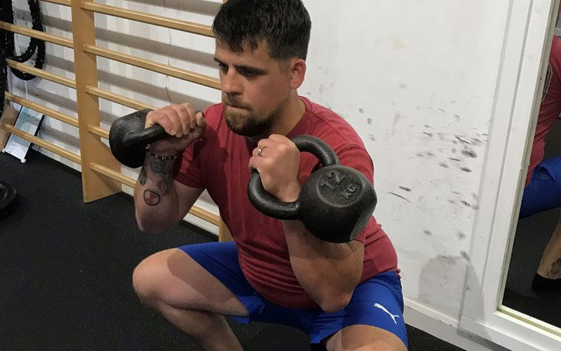 Personal training for improved fitness